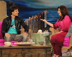 Vivek Oberoi With Farah