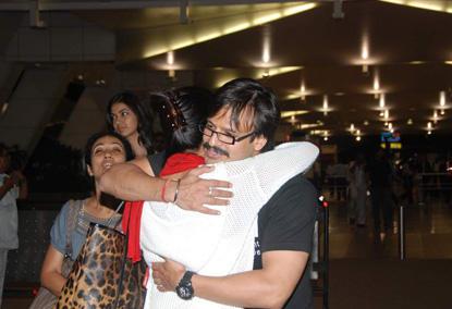 Vivek Oberoi Hug With Sushmita