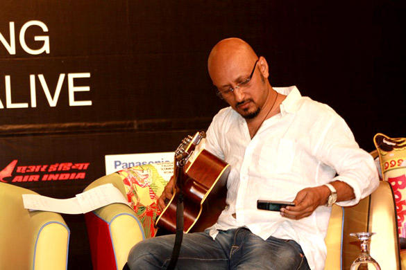 Shantanu Moitra During a Music Workshop as a Part of the International Indian