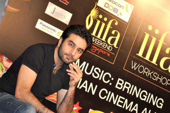 Shekhar Ravjiani at IIFA 2012 Music Workshop