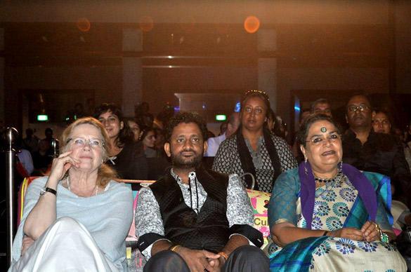 Usha Uthup and Resul Pookutty at IIFA 2012 Music Workshop