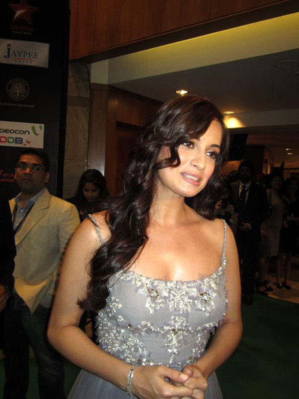 Dia Mirza at IIFA Rocks Fashion Show Event 2012