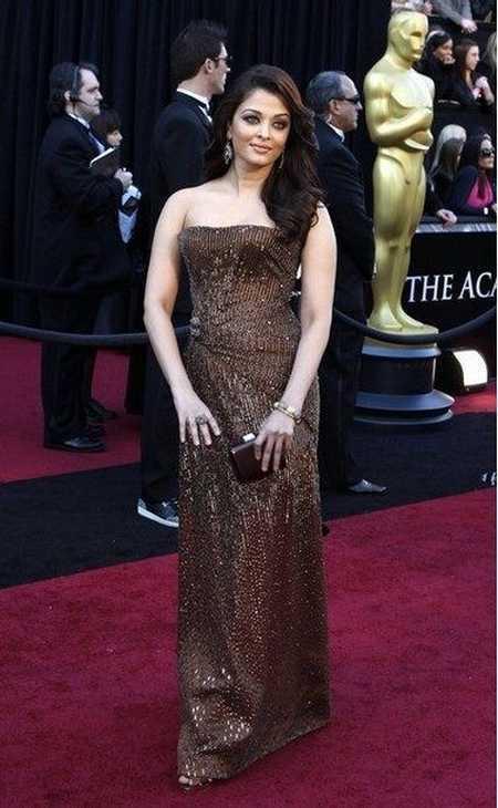 Gorgeous Aishwarya Rai at Oscars Awards