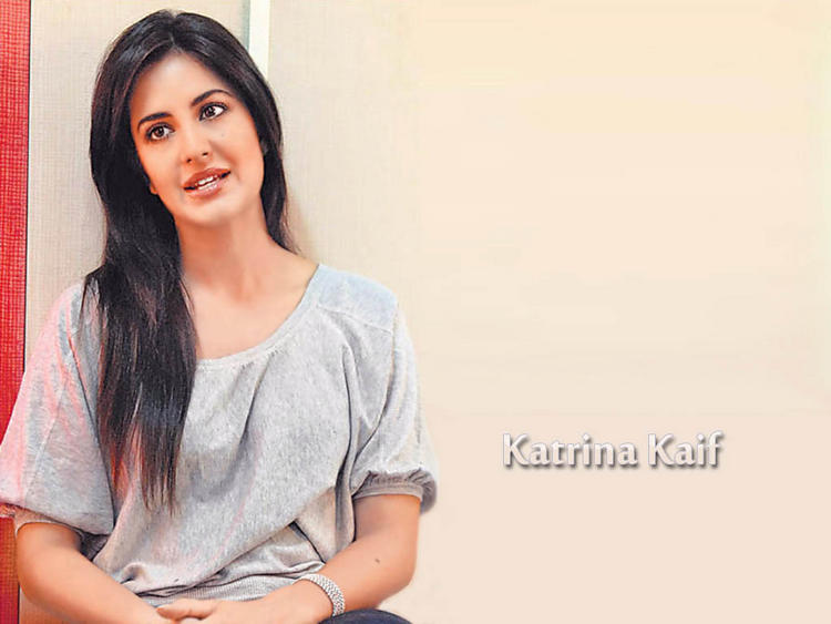 Bollywood Katrina Kaif Cute Look Wallpaper