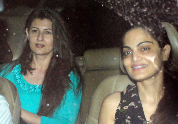 Sangeeta and Seema Spotted at Suburban Theatre To Watch a Film