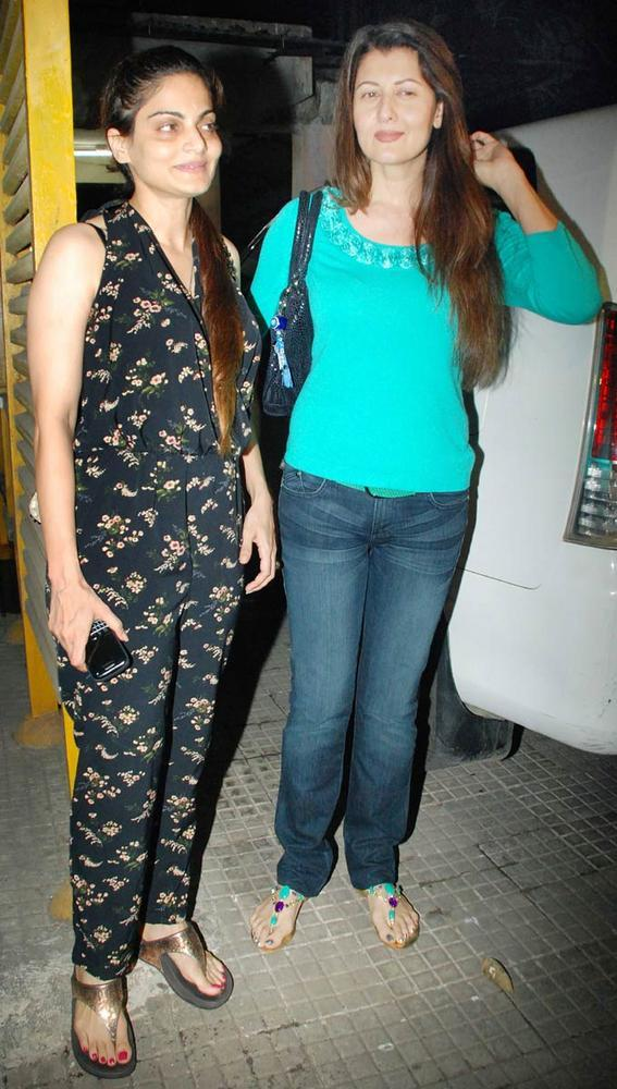 Sangeeta Bijlani,Seema Sachdev Spotted at Suburban Theatre