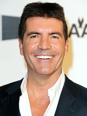 Simon Cowell Open Smile Pic