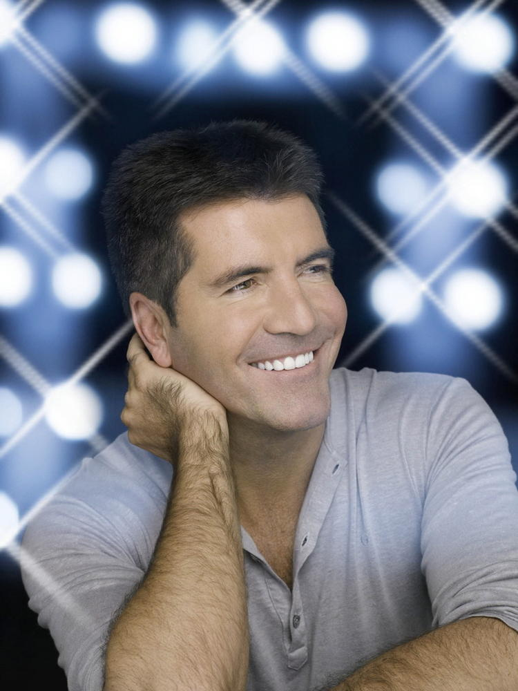 Simon Cowell Smiling Pic