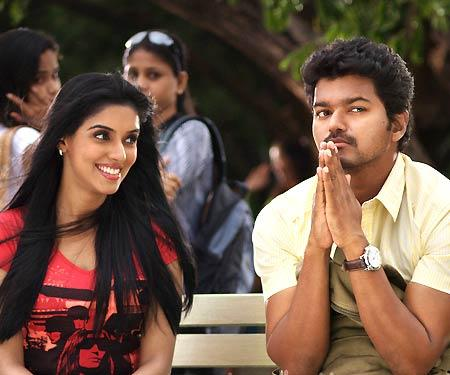 Asin and Vijay Still From Kavalan