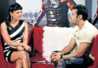 Koel and Salman In A Show
