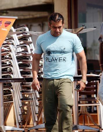 Salman Khan Angry Look Pic