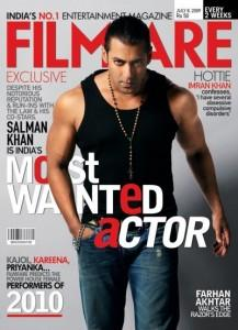 Salman Khan Cover Filmfare Magazine as Most Wanted Actor