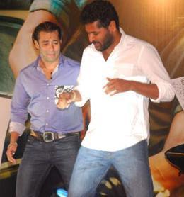 Salman Khan Dance With Prabudeva