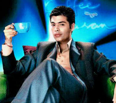 Karan Johar at Koffee With Karan Show