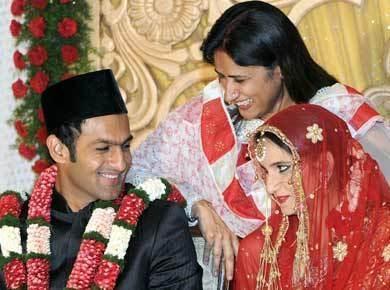 Sania Mirza and Shoaib Malik Swetest Pic