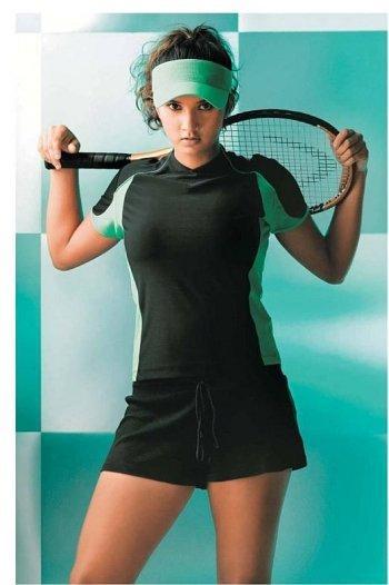 Sexy Tennis Player Sania Mirza Stylist Photo