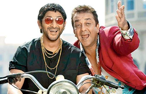 Sanjay Dutt and Arshad Warsi formed the much-loved jodi of Munnabhai and Circuit in both the Munnabhai films