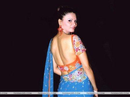 Rakhi Sawant Back Bare Hot Photo