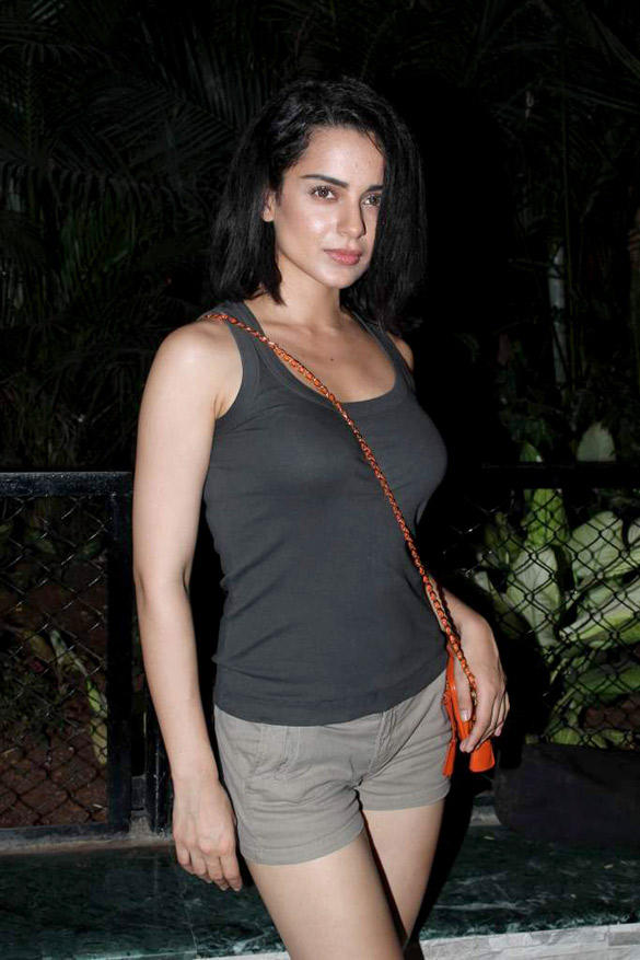 Bollywood Hottie Kangana Ranaut at Ekta Kapoor's Birthday Bash