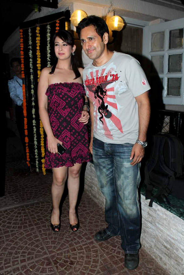 Preeti With Husband Parveen at Ekta Kapoor's Birthday Bash