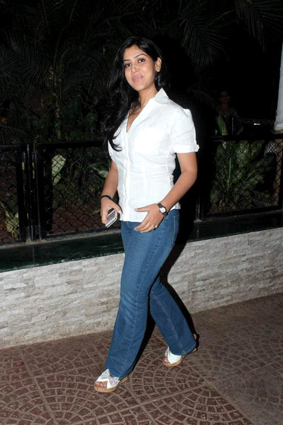 Sakshi Tanwar Stylist Look at Ekta Kapoor's Birthday Bash