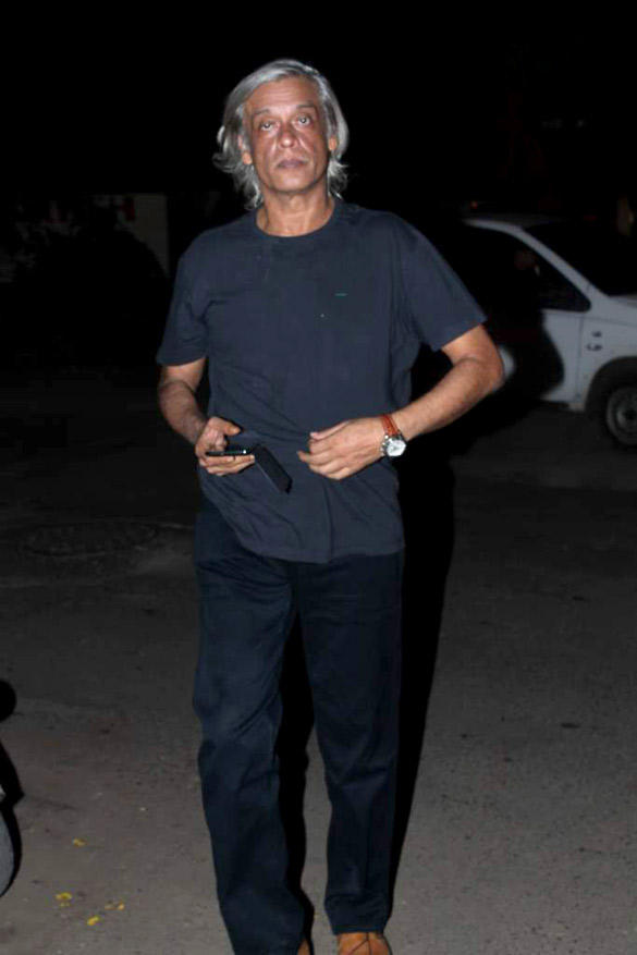 Sudhir Mishra Spotted at Ekta Kapoor's Birthday Bash