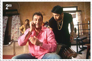 Sanjay and Arshad In Munna Bhai MBBS