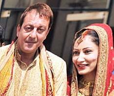 Sanjay Dutt and Manyata Dutt Wedding Pic