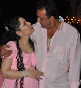 Sanjay Dutt and Manyata Sexy Still