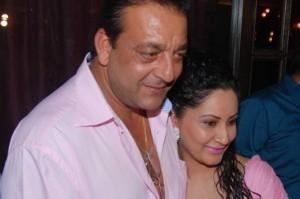 Sanjay Dutt and Manyata Sweet Smile Pic