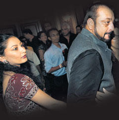Sanjay Dutt With Wife Manyata