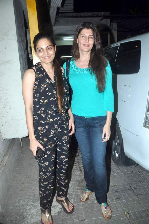 Alvira Khan Snapped With Sangeeta Bijlani to Watching Avengers Movie
