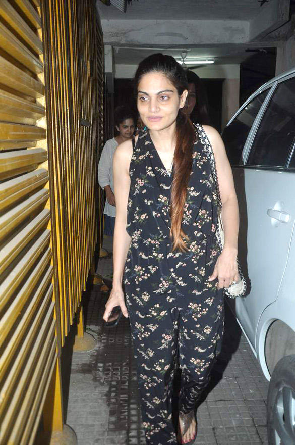 Alvira Khan Snapped to Watching Avengers