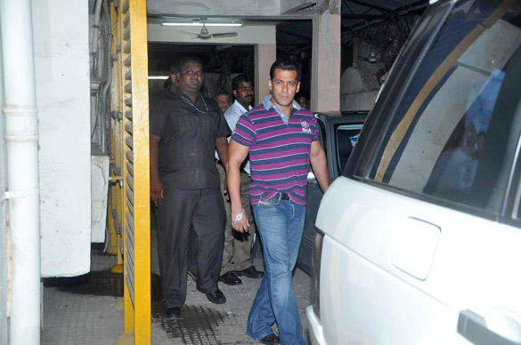 Salman Khan Spotted  to Watching Avengers Movie