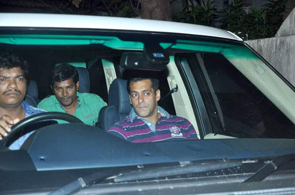 Salman's Family Snapped with Sangeeta Bijlani to Watching Avengers
