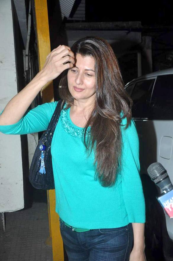 Sangeeta Bijlani Spotted  to Watching Avengers Movie