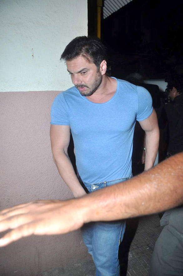 Sohail Khan Spotted  to Watching Avengers Movie