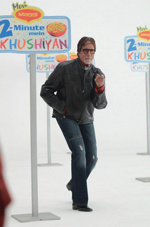 Amitabh Bachchan at Maggi Ad