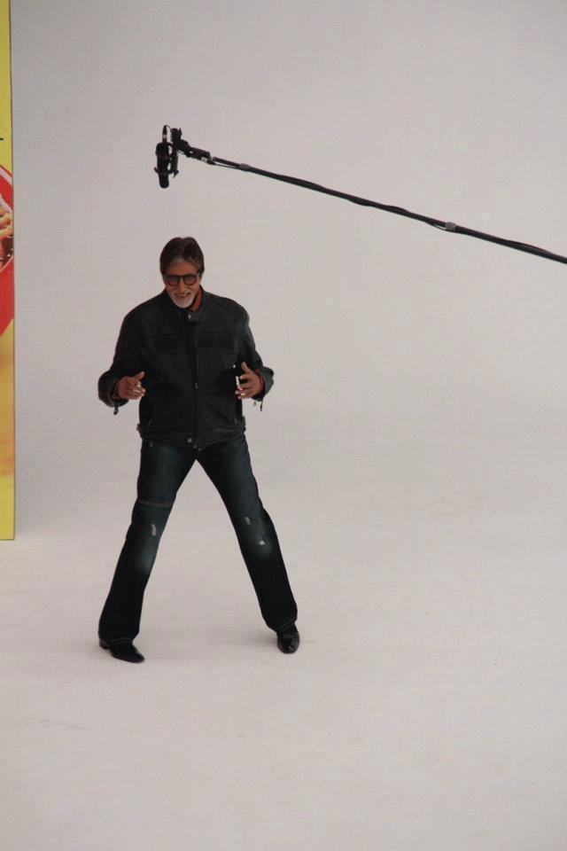 Superstar Amitabh Bachchan at Maggi Ad