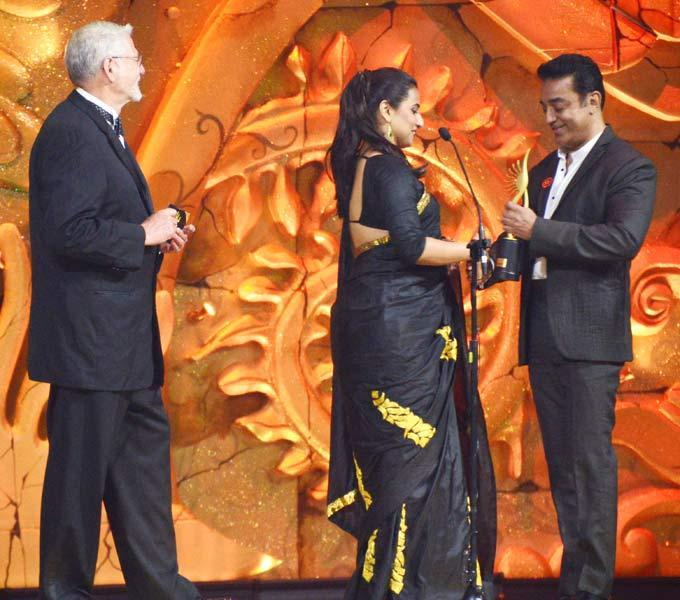 Vidya Balan Winning Best Actress Award at 13th IIFA Awards 2012