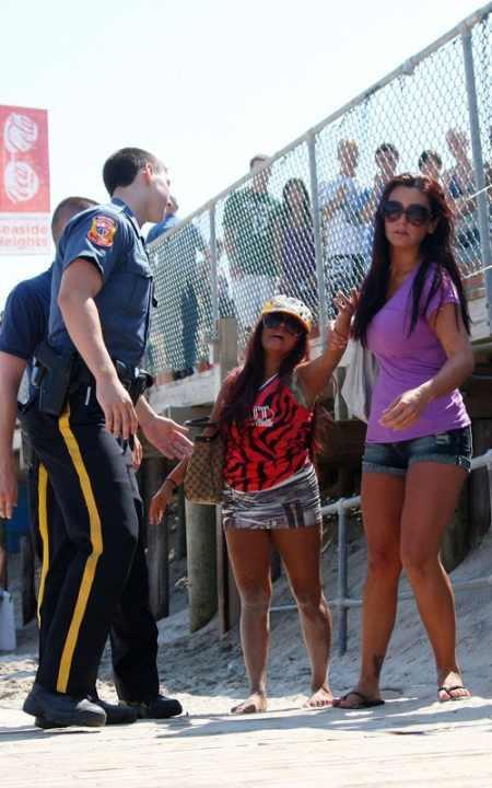 Snooki Polizzi Arrested Pic In Seaside