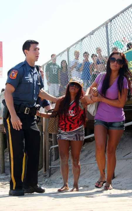 Snooki Polizzi Arrested In Seaside Height