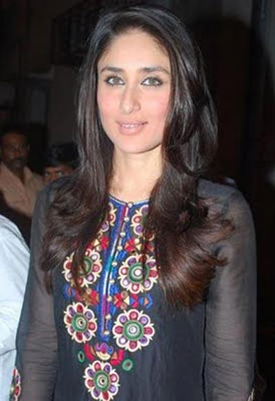 Kareena Kapoor In Black Dress Simple Photo