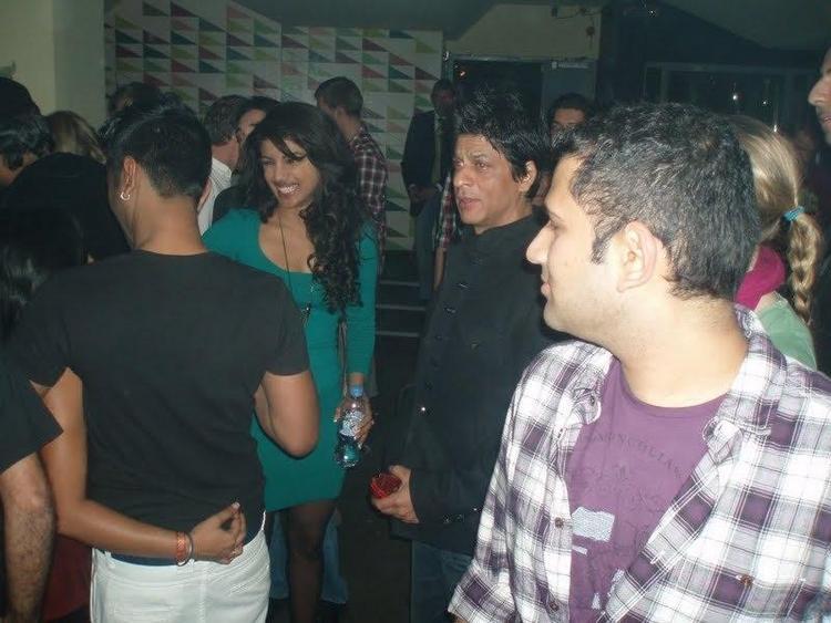 Shahrukh and Priyanka at Don 2 Party