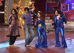 Shahrukh Dancing Still In Nach Baliye