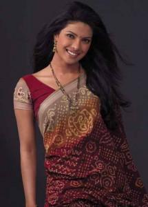Priyanka Chopra Beautiful Pose In Saree