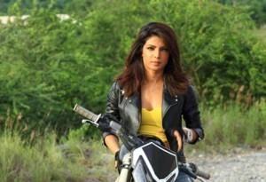 Priyanka Chopra Hot Pic On Bike