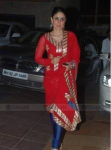 Kareena Kapoor Latest Pic In Churidar