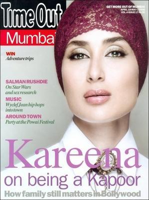 Kareena Kapoor Timeout Magazine Pic