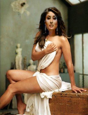 Kareena Kapoor Without Dress Hot Photo Shoot
